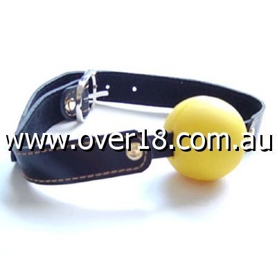 Laura Goodwin Gag with Yellow Ball Heavy