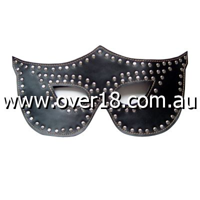 Turn Me On Feline Mask Studded