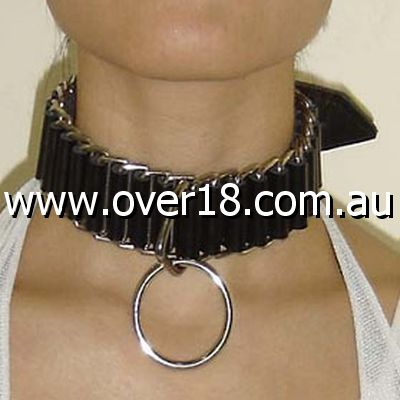 Sexy Slave Collar With O-Ring