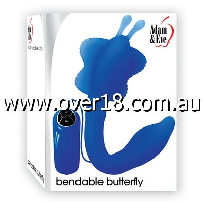 Adam  Eve Bendable Butterfly Vibe