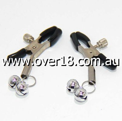 Adjustable Nipple Clamps With Two Bells