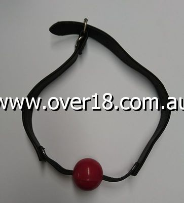 Amour Bondage Ball Gag Red