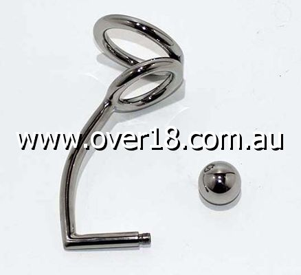 Anal Lock With Duo Rings