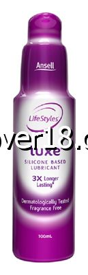 Ansell Luxe Silicone Lubricant