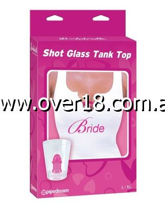 Bachelorette Party Favors Shot Glass Tank Top