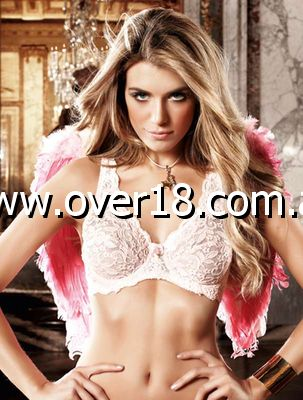 Baci Flower Lace Bra Delicate Pink
