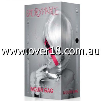 Bad Romance Translucent Mouth Gag with Metal Nails