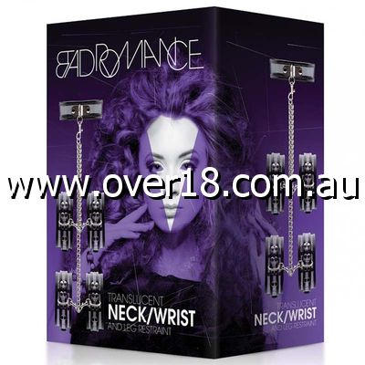 Bad Romance Translucent Neck Wrist  Leg Restraint