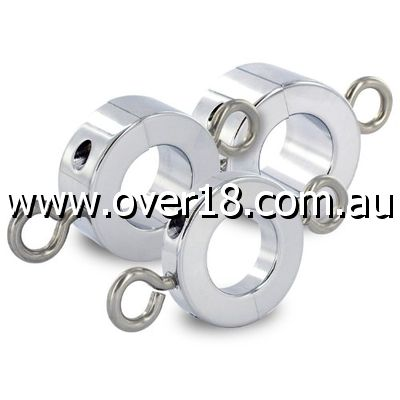 Ball Stretcher with Attached Weight Rings Small