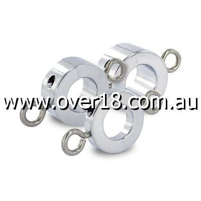 Ball Stretcher with Attached Weight Rings Large