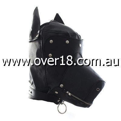 Bang Good Bondage Dog Hood Shiny