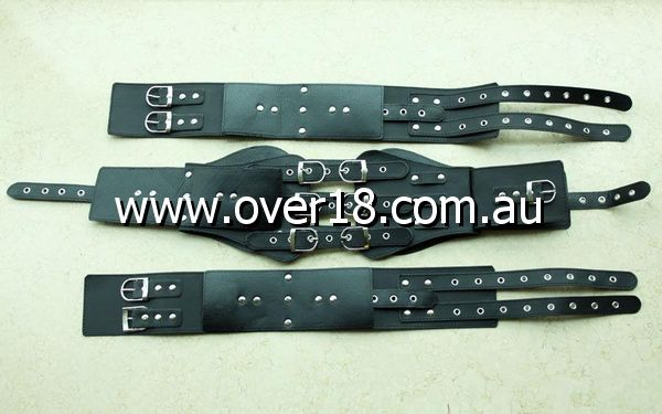 Barbarellas Thigh and Arms Restraints