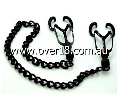 Black Beetle Nipple Clamps