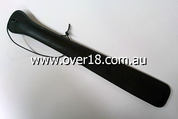 Black Punishment Leather Slapper