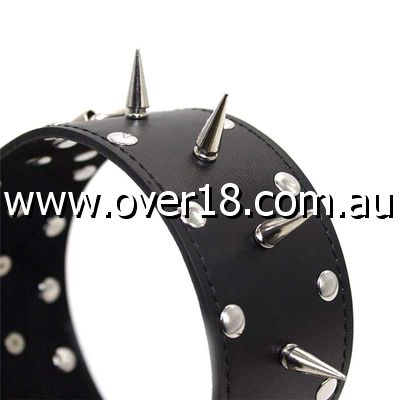 Classic Long Spike Collar Heavy