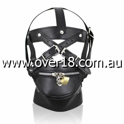 BDSM Hood Harness  Muzzle Thin