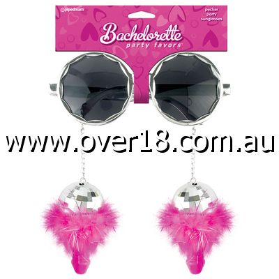 Bachelorette Party Favors Pecker Party Sunglasses