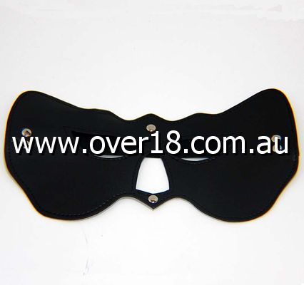 Cat Woman PVC Eye Mask Black