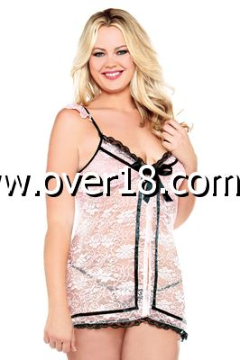 CURVE Babydoll  Thong DUP WITH 044