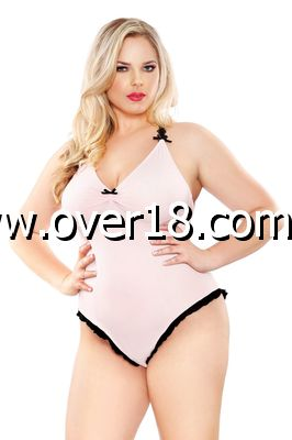 Curve Soft Touch Bodysuit With Snap Closure