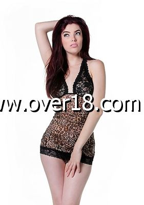De Namour Leopard Babydoll  Panther String