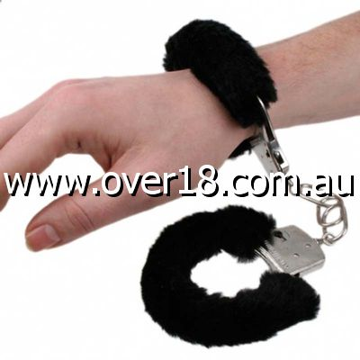 Die Cast Metal Furry Love Cuffs