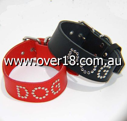 DOG Leather BDSM Collar
