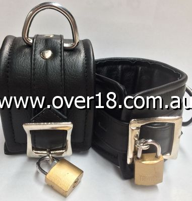 ErosLeather Ankle Cuffs
