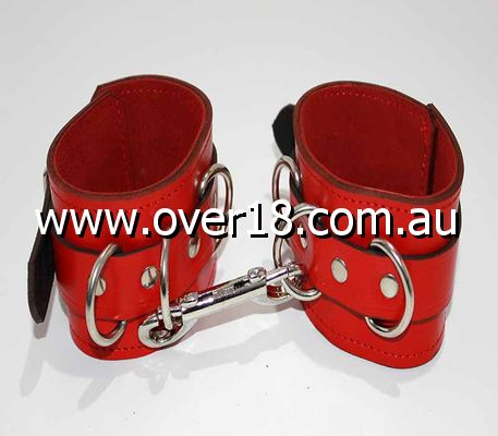 Fetish Toys Leather Ankle Restraints