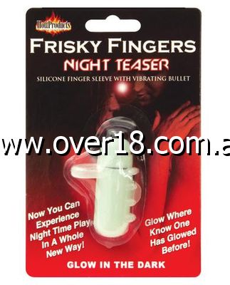 Frisky Fingers Sleeve Glow in The Dark