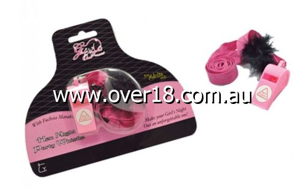 Girls Night Out Hen Night Party Whistle