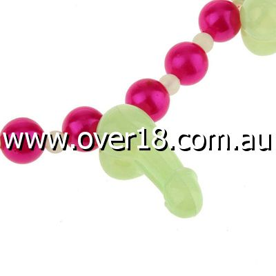Glow in Dark Dickie Necklace