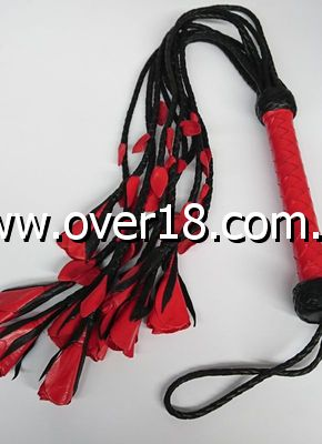 Heatwood Flogger Leather Nine Tail