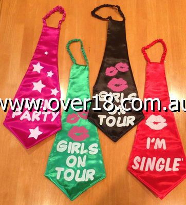 Hens Night Ties