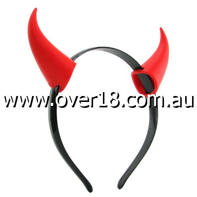 Horny Devil Vibrating Headband