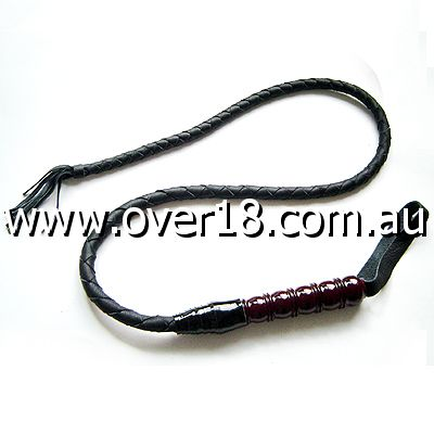 HouseofGord Soft Leather Bullwhip