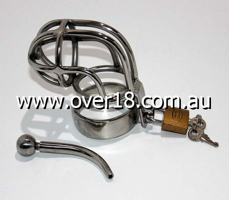 Impaler Chastity Cage Male Chastity Devise With Plug