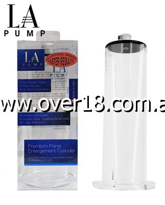 LA Pump 9 Inch Wide Body Cylinder in Deluxe Box
