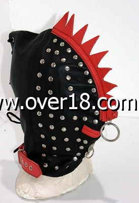 Leatherback Leather Bondage Hood