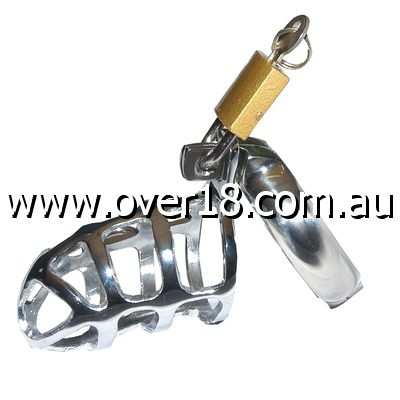 Lions Den Male Steel Chastity Device