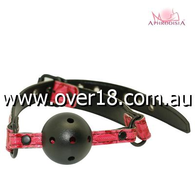 Aphrodisia Luxury Fetish Ball Gag in Pink