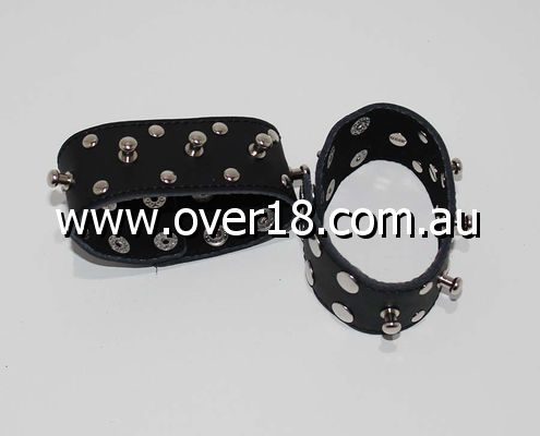 MonkeyDungeon Wrist  Ankle Cuffs Spiked  Studded