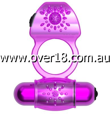 MyLovey Colby Twin Vibrating Cock Ring