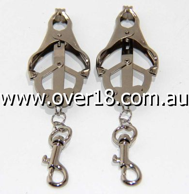 Nipple Clover Clamp With Snap Hook