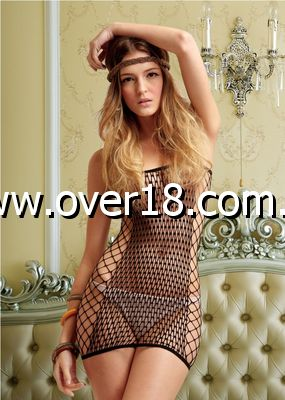 Notorious Fishnet Dress