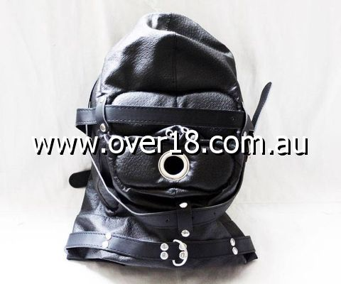 ObeySir Sensory Deprivation Hood Leather