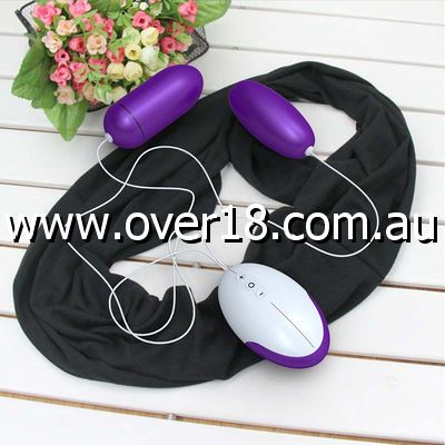 Odeco Wired Vibrating Dual Eggs