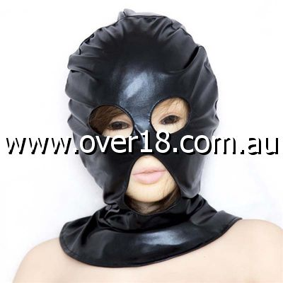 Open Mouth  Eyes Hood PVC