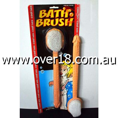 Pecker Bath Brush