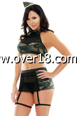 PLAY Go Commando 5 Piece Costume Set